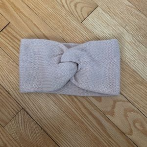 Beige headband/ear warmer